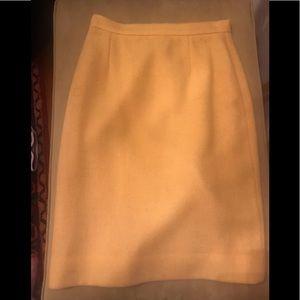Ralph Lauren yellow skirt size 8.